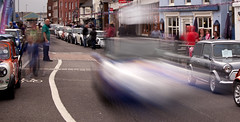 mini blur 33 (Mark Rigler UK) Tags: england motion blur car mini quay dorset hoy portsmouth poole