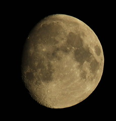 Waxing Gibbous Moon (Dave McGlinchey) Tags: moon space satellite astro astronomy lunar waxinggibbous 89 astronomyrelated
