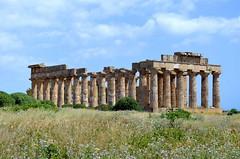 Temple of Hera at Area Archeologica di Selinunte (Italy) (|kris|) Tags: italy italia sicily sicilia italië selinunte sicilië templee templeofhera mygearandme areaarcheologicadiselinunte