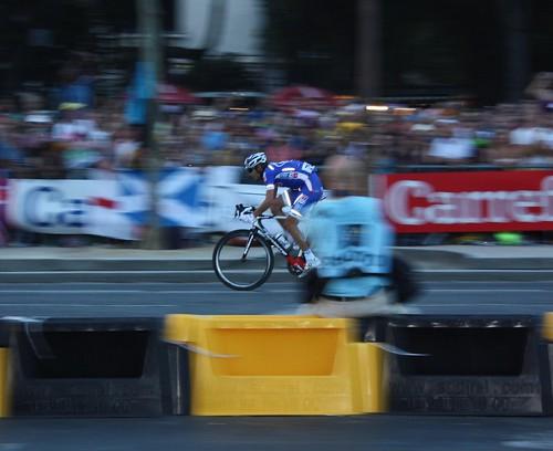 Jeremy Roy (FDJ.fr) amongst the blur