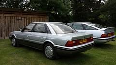 1986 Rover 825 Sterling 1990 Rover 827 Vitesse (whitelionfarm) Tags: rover sterling 1986 1990 vitesse 825 827