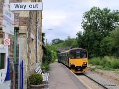 Umberleigh - Sprinter 150123 (SP Railways) Tags: uk great first trains class 150 western british railways gwr sprinter umberleigh traka 150123