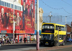 Blackpool Transport 347 E14BTS (EMN52Y) Dennis Trident East Lancs Lolyne ex Bus Vannin, Isle of Man 52 (chrisbell50000) Tags: favorite man bus ex 1 coach transport double lancashire east deck builders former dennis favourite isle blackpool 52 trident decker lancs 347 myllennium vannin lolyne elcb coachbuilders emn52y e14bts chrisbellphotocom