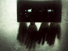 Handy (Daniel Light) Tags: highlands creepy gloves louisville kroger bardstownroad iphoneography uploaded:by=flickrmobile flickriosapp:filter=nofilter