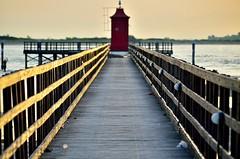 20130808_063525 (Carlo Pellizzato) Tags: faro punta ora rosso lignano crepuscolo dorata sabbiadoro
