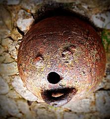 Smiley bomb, old fashion (pierre pouliquin) Tags: france alpes de smiley bomba chateau bomb chteau bombe hautesavoie montrottier