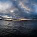 Sunset on Lake Haapavesi