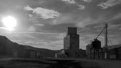 Rosedale Alberta Grain Elevator (Wilson Hui) Tags: canada rural elevator grain alberta prairies grainelevator rosedale westerncanada ruralalberta canadianprairies