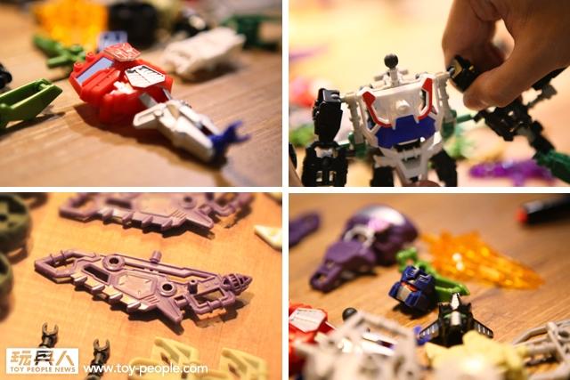 """孩之寶玩具 - """"變形金剛-組合機器人系列"""" 開箱報告"""