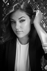 Sasha Grey (rafael.roncato) Tags: light shadow red brazil portrait white black contrast grey hotel book eyes nikon visit porn actress writer sasha society juliette position d90