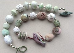 Ardmore Beach Bracelet (batessilvana) Tags: b handmade jewellery clay polymer silvana
