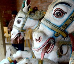 Naaku thelleathu aka Nakku thalluthu (Ajinhari) Tags: nikon nikkor chennai tamilnadu woodenhorse dakshinchitra nikond7000 ajinhari nikkor55200mmafsdx