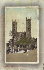 Montreal- Notre Dame Church- vintage postcard (c. 1911)- 001 (Cairlinn) Tags: church montreal postcard notredame vintagepostcard