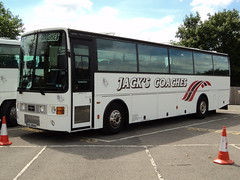 Jack`s Coaches of Middlesbrough XIL8942 (yorkcoach) Tags: york middlesbrough nrm nationalrailwaymuseum vanhool jackscoaches xil8942