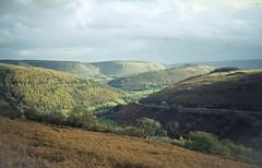 A view for the senses... (Jess Feldon) Tags: autumn landscape view llangollen horseshoepass northwales fujix100