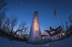 North Point (olsonj) Tags: blue winter wisconsin hour milwaukee northpointlighthouse