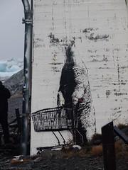 Sheep with shopping cart (katrin glaesmann) Tags: streetart island iceland gletscher eis jkulsrln pbel eisberg vatnajkull glacierlake gletschersee gletscherflusslagune