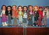 Bratz line-up 23.11.13 (skipscales) Tags: fashion shoes dolls dress boots clothes jeans jade yasmin mga bratz cloe funfur nevra meygan