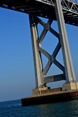 Under the Bridge (earthdog) Tags: sanfrancisco bridge nikon baybridge alamedaferry 2013 afsdxvrzoomnikkor55200mmf456gifed d5100 nikond5100