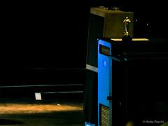 intermission (Anita Pravits) Tags: london oscar concert royalalberthall stage bobdylan intermission pause konzert bühne