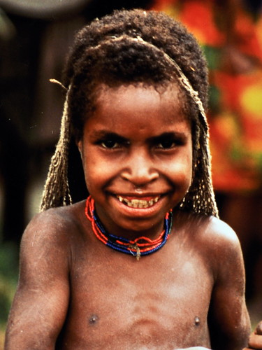 Western New Guinea - Baliem Valley - Dani Girl With Noken - 14