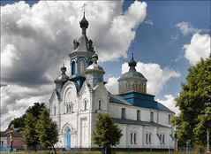 , ,   (zzuka) Tags: church belarus   vision:mountain=0718 vision:outdoor=0984 vision:sky=0966 vision:clouds=0635  kryvoshin