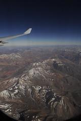 über den chilenischen Anden