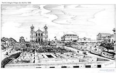 Porto Alegre Praça da Matriz 1865