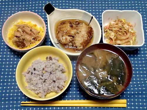 2013年12月23日の晩ご飯
