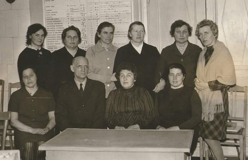 Фотография учителей Фряновской школы