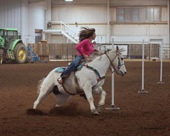 Bar None Jr Rodeo (Garagewerks) Tags: horse girl sport female youth bar cowboy all none sony sigma indoor jr pole arena rodeo poles cowgirl athlete f28 equine bending 70200mm 2875mm views100 slta77v slta65v