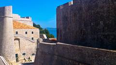 City walls in Dubrovnik, Croatia (sandra86sandra) Tags: croatia walls dubrovnik oldcity adriatic adria