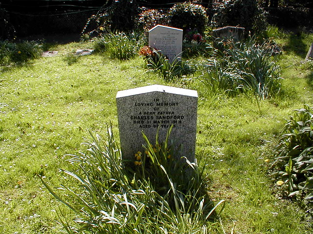 Charles_Sandford_Headstone_Elsenham_Churchyard