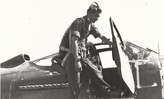 P-39 USAAF Pilot (Dulacca.trains) Tags: airplane fighter bell aircraft aeroplane ww2 1942 usaf usarmy usaaf pacificwar p39 airacobra raafamberley