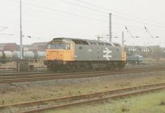 "Original Railfreight Class 47/3, 47358 ""Ivanhoe"" (37190 ""Dalzell"") Tags: spoon duff ivanhoe wigan class47 railfreight springsbranch brush4 class473 47358"