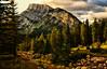 Good Light in Banff (Jeff Clow) Tags: mountrundle albertacanada banffnationalpark ©jeffrclow banffphototour jeffclowphototours