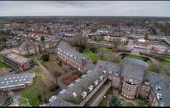 Uitzicht op kruishoogte - richting Egmond