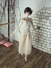 Ballet Afternoon - Elizabeth (Levitation_inc.) Tags: ballet fashion model ballerina doll handmade ooak barbie levitation muse clothes poppy etsy royalty parker pivotal nuface