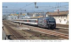 "Re 460 076-3 ""Maurice Lacroix"" - Renens VD (CC72080) Tags: train sbb locomotive renens cff re460 interrégio"