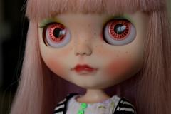 Abigail (Isa Mira) Tags: pink cute hair doll ooak carving blythe custom takara tomi mueca rbl mylittlecandy dafnery