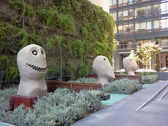 Moonrise by Ugo Rondinone (Mr Pika) Tags: sanfrancisco sculpture cityscape modernart ugorondinone