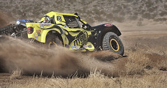 Silt Surfing at the 2014 Mint 400 Off Road Race (CameraOne) Tags: motion blur speed movement raw desert action nevada racing 63 dirt canon5d mgi lasvegasnevada offroadracing trophytruck mint400 canon7020028is jeannevada tricktruck thegreatamericanoffroadrace adambosch