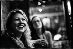 Steph_M6Summarit_Delta_040 (Johnny Martyr) Tags: beautifulsmile themostbeautifulsmile whiteteeth dirtyblondesmile cheeks beautiful beautifulgirl cutegirl smilingwoman boke bokeh outoffocuspointsoflight leica leicam6summarit leitzsummarit5cm leica50mm vintageleicalens oldleicalensbokeh outoffocus candidportraithappy photojournalisticportraiture happy happygirls viniculture downtownfrederick maryland frederickmd frederickmaryland 35mmfilm blackandwhitefilmgirlsmiling girlsmilingbwfilm womansmilingblackandwhite womansmilingbw rangefinder film 35mm 5cm 50mm leitz dark darkness night bar drinking alcohol laughter hot cute pretty women woman girl girls grain grainy shadows light lightness kodak hc110 hc110b 6400iso 3200iso pushprocessing portrait loveable bigcheeksbrightsmile perfectface lookingup goodtimes vintage retro blonde blondesmile hotblondewithabeautifulsmile