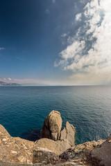 From Santa Margherita to Portofino, Italy (big91mogoro) Tags: nikon d3200 samyang 8mm italy italian seascape landscape portofino sea