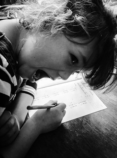Lizzie's Maths Homework.