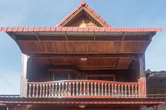 20161225 Cambodia 04540 2 (R H Kamen) Tags: cambodia kratie kratieprovince southeastasia architcture balcony buildingexterior builtstructure rhkamen roof