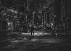 zebra crossing (berberbeard) Tags: hannover fotografie photography urban berberbeard berberbeardwordpresscom germany ilce7m2 itsnotatrick street primelens festbrennweite zeiss 55mm sony deutschland nacht night schwarzweiss blackandwhite monochrome