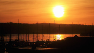 Sunrise in Kinsale