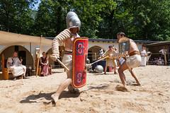 Gladiatoren gevecht / RomeinenNU, Jeroen Savelkouls (Romeinselimes1) Tags: romeinennu romeinenfestival romeinen