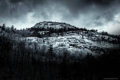 Ice-Covered Adirondacks (CoreysPics) Tags: adirondacks finepix fuji fujifilm silverefexproii winter x100s blackandwhite landscape mountains snow